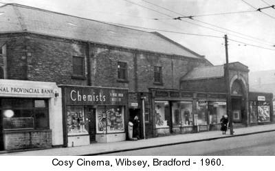 Cosy Cinema 1960