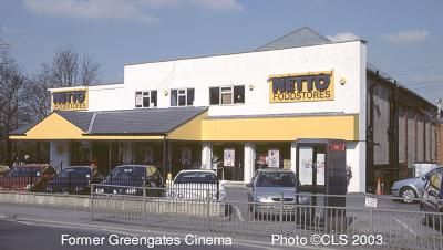 Former Greengates Cinema
