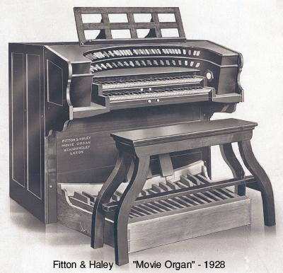 Fitton & Haley Movie Organ