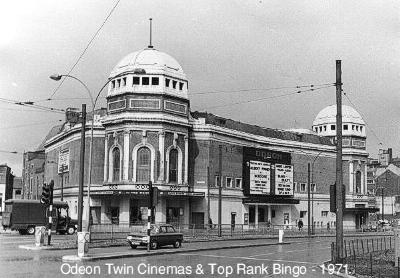 Odeon 1  and 2 in 1971