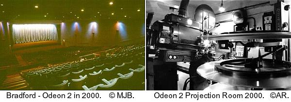 Odeon 2 Auditorium and Projection Room