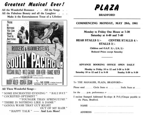 South Pacific flyer