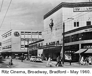 Ritz cinema 1960