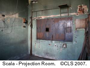Scala Projection Room 2007