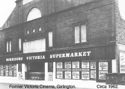 Former Victoria cinema, Girlington.